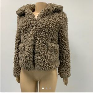 Faux fur coat from Zara